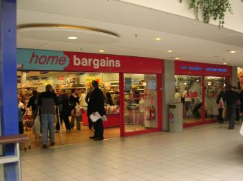 Home Bargains Manor Walks Cramlington Newcastle Upon