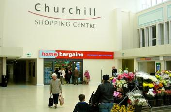 Churchill Shopping Centre, Dudley