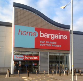 Home Bargains Hough Retail Leisure Park Stafford