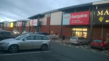 Shrub Hill Retail Park, Tallow, Worcester.