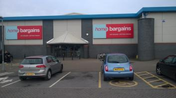 Home Bargains Ringwood Retail Park Bournemouth