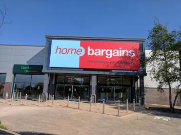 Home Bargains Peel Centre Stafford Street Wolverhampton Opening